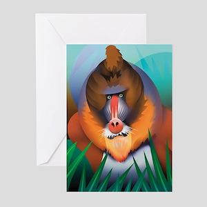 Mandrill Greeting Cards (Pk of 20)