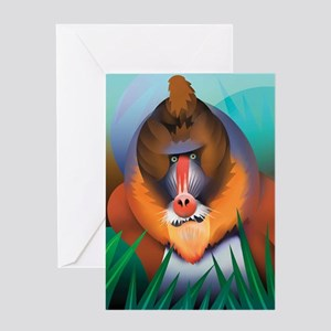Mandrill Greeting Card