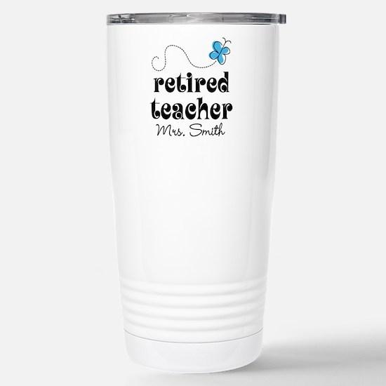 Retired Teacher Personalized Mugs