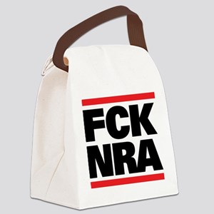 FCK NRA Canvas Lunch Bag