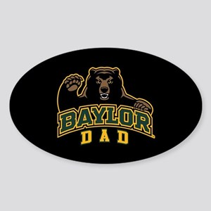 Baylor Dad Bear Sticker (Oval)