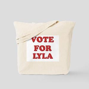 Vote for LYLA Tote Bag