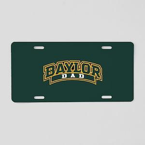 Baylor Dad Logo Aluminum License Plate