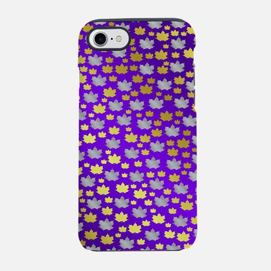 purple,lilac,gold, silver, m iPhone 8/7 Tough Case