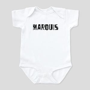 Marquis Faded (Black) Infant Bodysuit