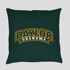 Baylor Grandma Logo Everyday Pillow