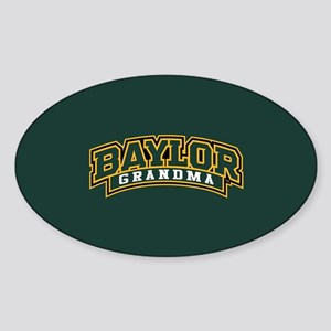 Baylor Grandma Logo Sticker (Oval)
