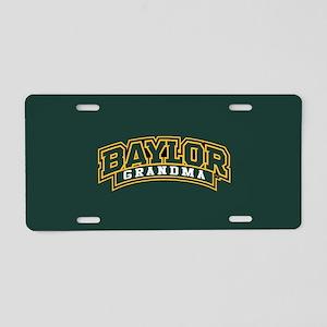 Baylor Grandma Logo Aluminum License Plate