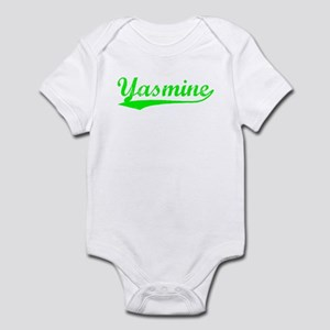Vintage Yasmine (Green) Infant Bodysuit