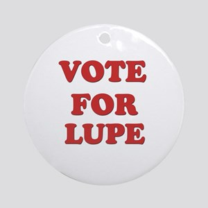 Vote for LUPE Ornament (Round)