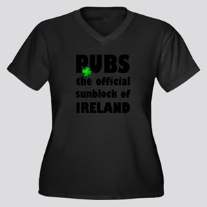PUBS the official sunblock of IR Plus Size T-Shirt