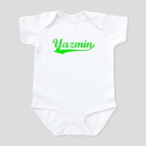 Vintage Yazmin (Green) Infant Bodysuit