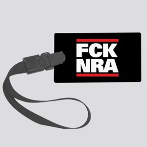 FCK NRA Large Luggage Tag