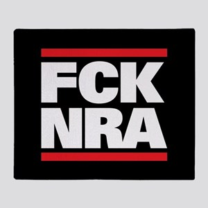 FCK NRA Throw Blanket
