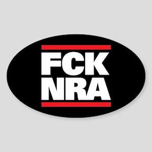 FCK NRA Sticker (Oval)