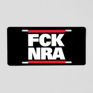 FCK NRA Aluminum License Plate