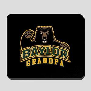 Baylor Grandpa Bear Mousepad