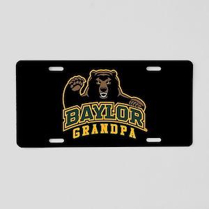 Baylor Grandpa Bear Aluminum License Plate