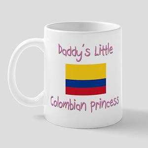 Daddy's little Colombian Princess Mug