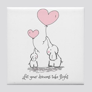 Let your dreams take flight Tile Coaster