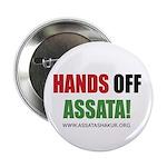 """Hands off Assata 2.25"""" Button (10 pack)"""