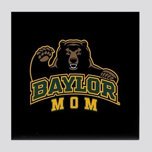 Baylor Mom Bear Tile Coaster