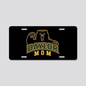 Baylor Mom Bear Aluminum License Plate