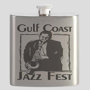 Gulf Coast Jazz fest Flask