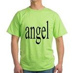 346.angel Green T-Shirt
