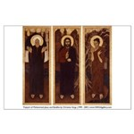 Triptych Large Poster