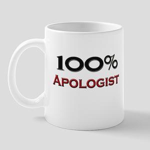 100 Percent Apologist Mug
