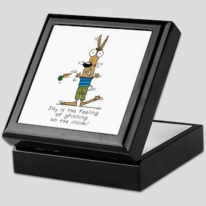 Joyful Rabbit Keepsake Box