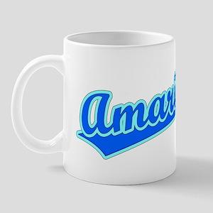 Retro Amarillo (Blue) Mug