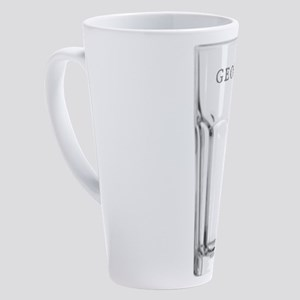 George Glass 17 oz Latte Mug