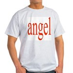 346.angel Ash Grey T-Shirt
