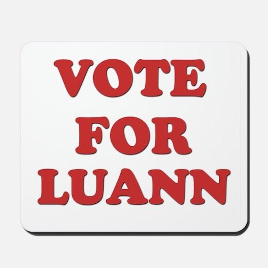 Vote for LUANN Mousepad