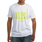 346.angel Fitted T-Shirt