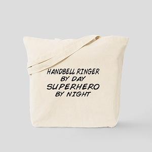 Handbell Superhero by Night Tote Bag