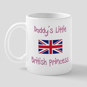 Daddy's little British Princess Mug