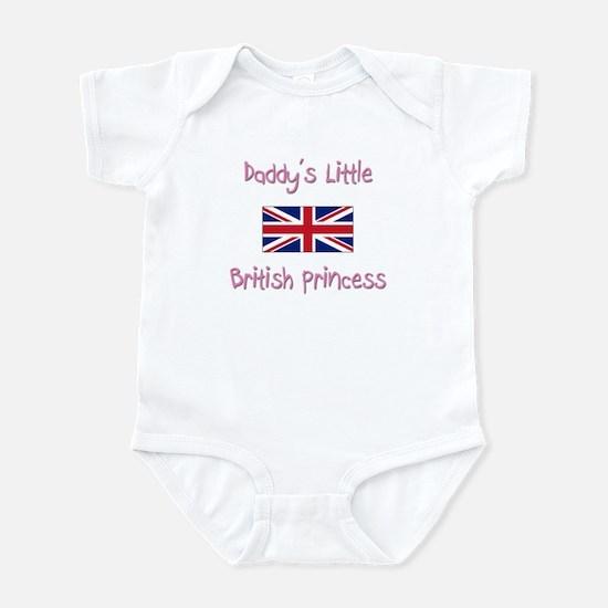 Daddy's little British Princess Infant Bodysuit