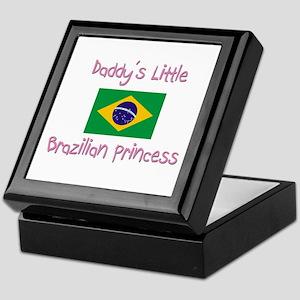 Daddy's little Brazilian Princess Keepsake Box