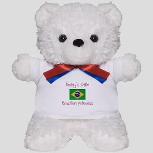 Daddy's little Brazilian Princess Teddy Bear
