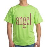 346.angel Green T-Shirt