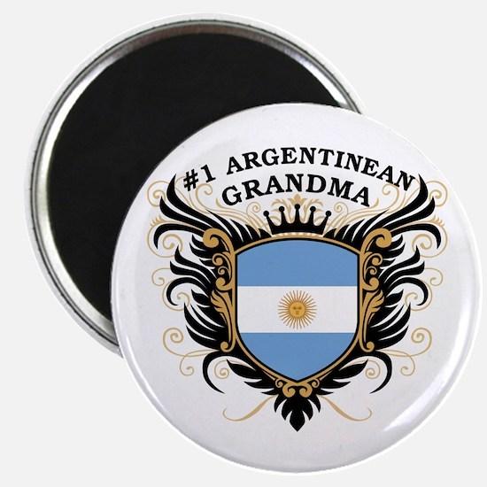 Number One Argentinean Grandma Magnet
