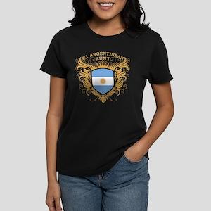 Number One Argentinean Aunt Women's Dark T-Shirt