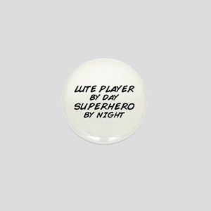 Lute Superhero by Night Mini Button