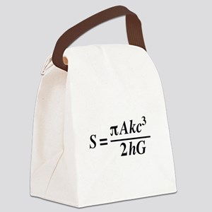 hawkings equation Canvas Lunch Bag