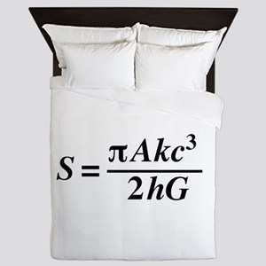 hawkings equation Queen Duvet