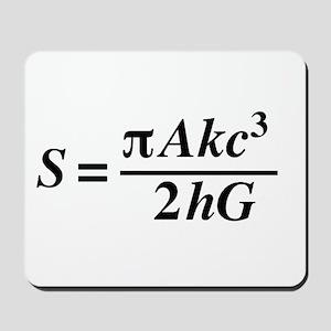 hawkings equation Mousepad