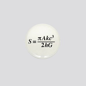 hawkings equation Mini Button